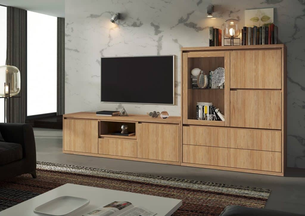 Módulo para TV y vitrina
