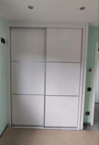 Armario de puertas correderas modelo 106 blanco