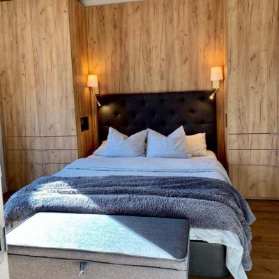 dormitorio panelado